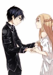 Sword Art Online (SAO) - Kirito e Asuna