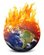 terra pegando fogo