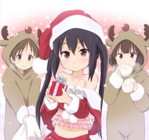 Não fiz banner para o Natal 2012 UtiInuti, por isso fico postando garotas com roupinha natalina