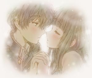 incipient kiss - chitanda eru - hyouka