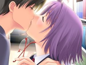 french kiss anime girl game cg