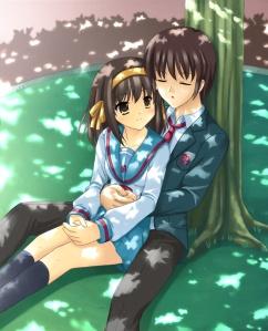 suzumiya_haruhi and kyon