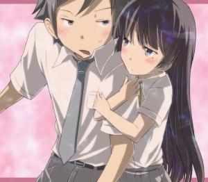 Não tem como a amiga da minha irmã gostar tanto de mim assim (o nome original do anime é quase igual a isso)