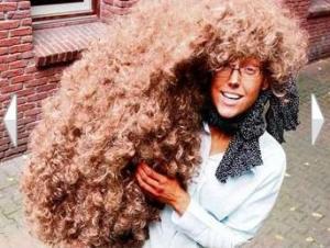 muito cabelo