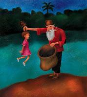 Sabe... Acho que o Velho do Saco parece o Papai Noel... (se não conhece a lenda, clique na imagem e leia)