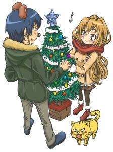 A Taiga é do tipo que fica gentil e amável (ou seja, deredere) quando chega o Natal.