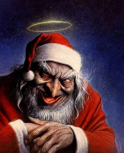 Então você não foi uma criancinha boa esse ano? Então você vai ganhar presente mesmo assim, mas vai ser um presentinho especial... MWHAHAHAHAHAHAHA!