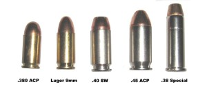 Cada tipo de munição que eu falei aqui no post.