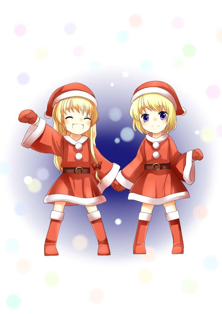 Mais Touhou: (quase) Yuri fofinho como presente de Natal antecipado.