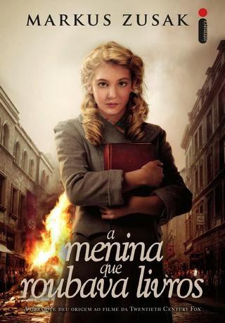 A menina que roubava livros teve a capa original (e muito mais bonita, na minha opinião (clique na imagem para ver e tirar suas próprias conclusões)) roubada por causa da adaptação cinematográfica que ganhou.