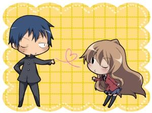 Eu ainda não acredito que publiquei uma postagem de dia dos namorados sem esse casal de anime shoujo.