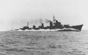 Shimakaze, destróier japonês de 1942