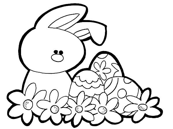 Sentido pagão: Coelho e ovos de chocolate. Bom para usar em escolinhas.