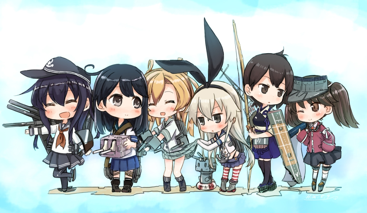 AnimeRelacionado #5½ – Kantai Collection