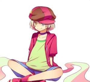 Deus (desse mundo)(o nome dele é Tet, na verdade) é um garoto brincalhão dublado pela dubladora da Taiga.