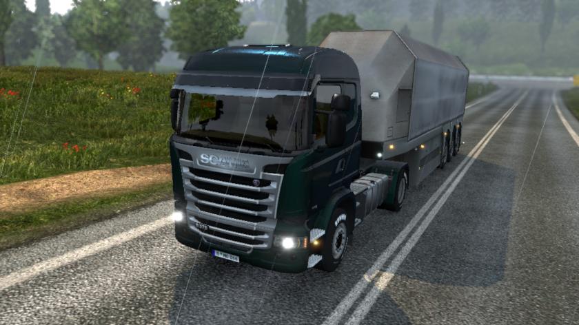 Embora esse Scania seja legal, meu caminhão preferido é um Volvo FH16.