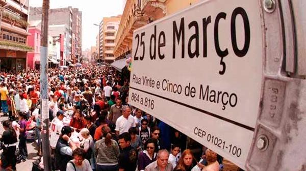 25 de março – a rua, não odia